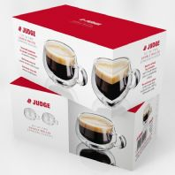 Judge Double Wall Glasses Pack 2 - Espresso